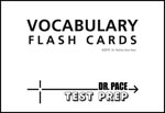Vocaublary Flash Cards